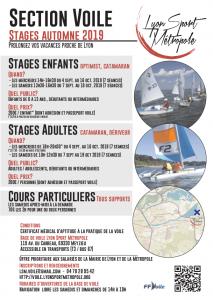 Affiche Stage automne 2019